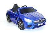 Детский электромобиль MERCEDES-BENZ SL500 (ЛИЦЕНЗИОННАЯ МОДЕЛЬ) с дистанционным управлением синий