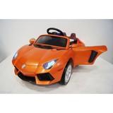 Электромобиль Rivertoys Lambo E002EE оранжевый