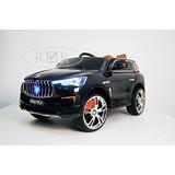 Детский электромобиль RiverToys Maserati E007KX черный