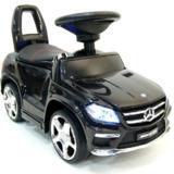 Каталка Mercedes-Benz GL63 A888AA с кожанным сиденьем Черный