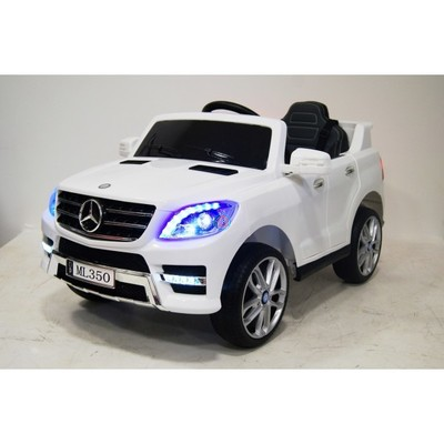 Электромобиль Rivertoys Mercedes-Benz ML350 белый