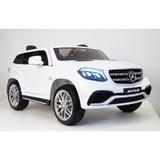Электромобиль полноприводный двухместный Rivertoys Mercedes-Benz GLS63 4WD белый