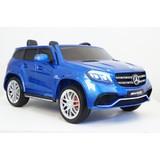 Электромобиль полноприводный двухместный Rivertoys Mercedes-Benz GLS63 4WD синий глянец