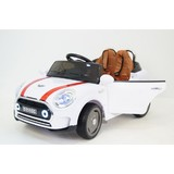 Электромобиль RiverToys Mini Cooper С111СС белый