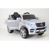 Электромобиль Rivertoys Mercedes-Benz ML350 серебристый глянец