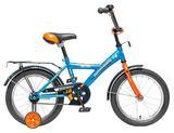 """Детский велосипед NOVATRACK Astra 16"""" от 4 до 6 лет синий"""