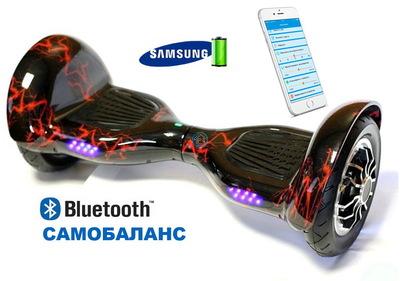 Гироскутер Smart Balance Suv 10 красная Молния, с приложением тао тао