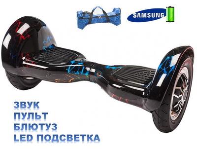 Гироскутер Smart Balance Wheel SUV 10 Молния цветная (мини-сигвей), с надувными колесами. Smart Balance Pro 10