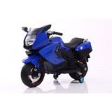 Мотоцикл RiverToys Moto A007MP синий