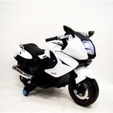 Мотоцикл RiverToys Moto A007MP белый