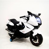 Мотоцикл RiverToys Moto A007MP белый