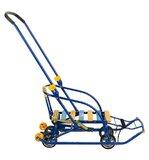 Санки детские Nika Nikki 3 (выдвижные колеса) синий