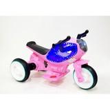 Детский мотоцикл RiverToys Moto HC-1388 розовый