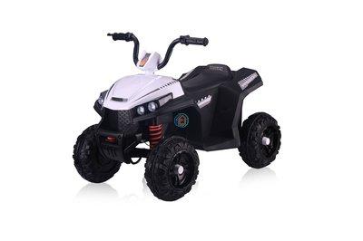 Детский квадроцикл River Toys T111TT белый