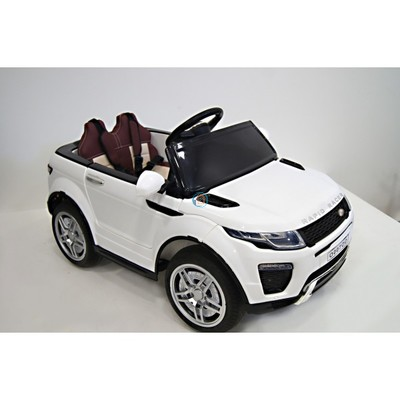 Электромобиль RiverToys Range о007оо VIP белый