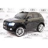 Электромобиль Rivertoys Audi Q5 черный глянец