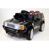 Детский электромобиль RiverToys Hummer E003EE черный