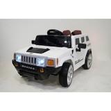 Детский электромобиль RiverToys Hummer E003EE белый