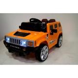 Детский электромобиль RiverToys Hummer E003EE оранжевый