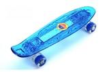 Скейтборд Penny Board LED 22″ с подсветкой Синий