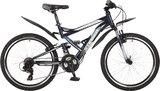 """Подростковый велосипед Stinger Versus 24"""" синий"""