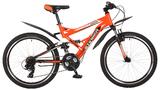 """Подростковый велосипед Stinger Versus 24"""" оранжевый"""