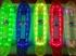 Скейтборд Penny Board LED 22″ с подсветкой Зеленый