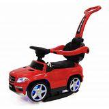 Каталка RiverToys Mercedes-Benz A888AA-H кожанным сиденьем красный