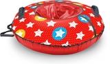 Тюбинг-ватрушка Ника принтованный диаметр чехла 1050мм звезды